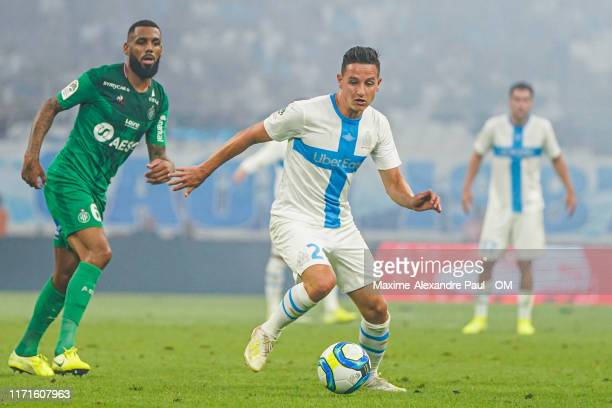 Florian Thauvin during the Ligue 1 match between Olympique Marseille and AS SaintEtienne at Stade Velodrome on September 01 2019 in Marseille France