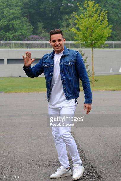 Florian Thauvin of France arrives at the Center National Football as part of the preparation to FIFA Russia 2018 on May 23 2018 in Clairefontaine...