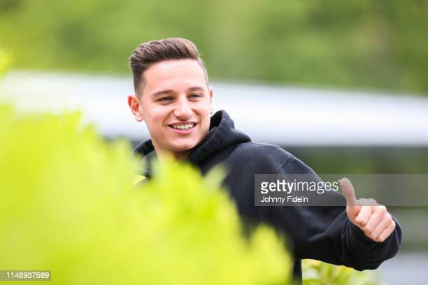 Florian Thauvin of France arrives on May 29 2019 in Clairefontaine France