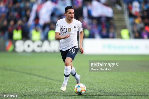 Florian Thauvin of France during the Qualifying European Championship 2020 match between Andorra and France at Estadi Nacional on June 11 2019 in...