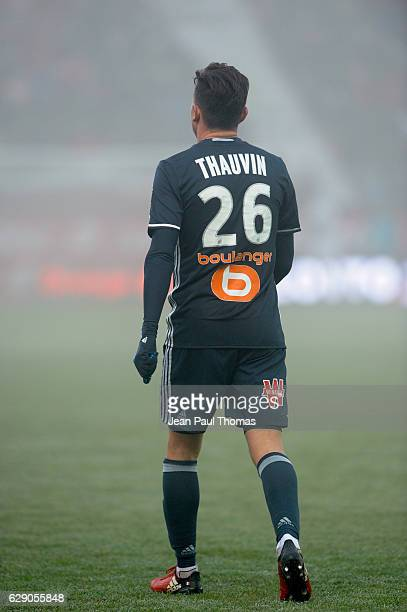 Florian Thauvin of Marseille during the French Ligue 1 between Dijon and Marseille at Stade Gaston Gerard on December 10 2016 in Dijon France