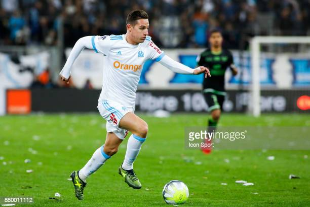 Florian Thauvin of Marseille during the Ligue 1 match between Olympique Marseille and EA Guingamp at Stade Velodrome on November 26 2017 in Marseille