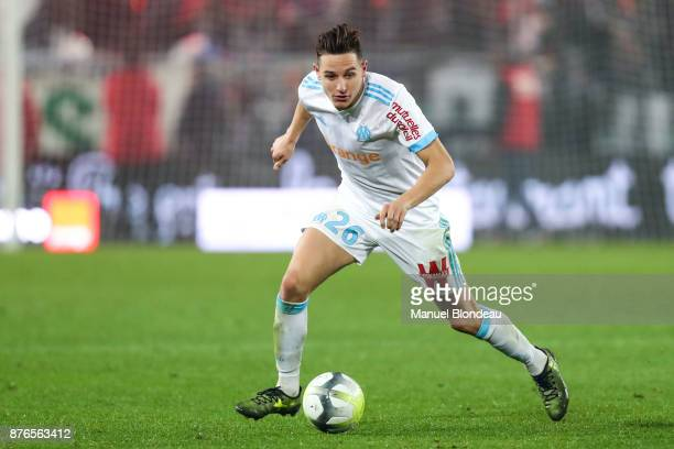 Florian Thauvin of Marseille during the Ligue 1 match between FC Girondins de Bordeaux and Olympique Marseille at Stade Matmut Atlantique on November...