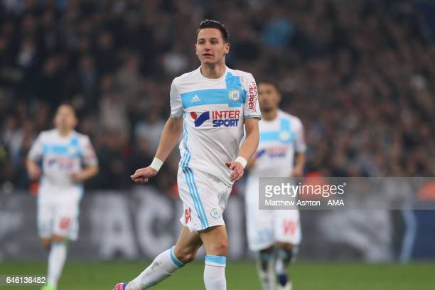Florian Thauvin of Olympique de Marseille during the French Ligue 1 match Marseille and Paris Saint Germain at Stade Velodrome on February 26 2017 in...