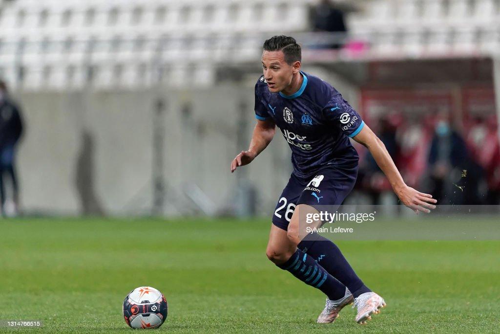 Stade Reims v Olympique de Marseille - Ligue 1 Uber Eats : News Photo