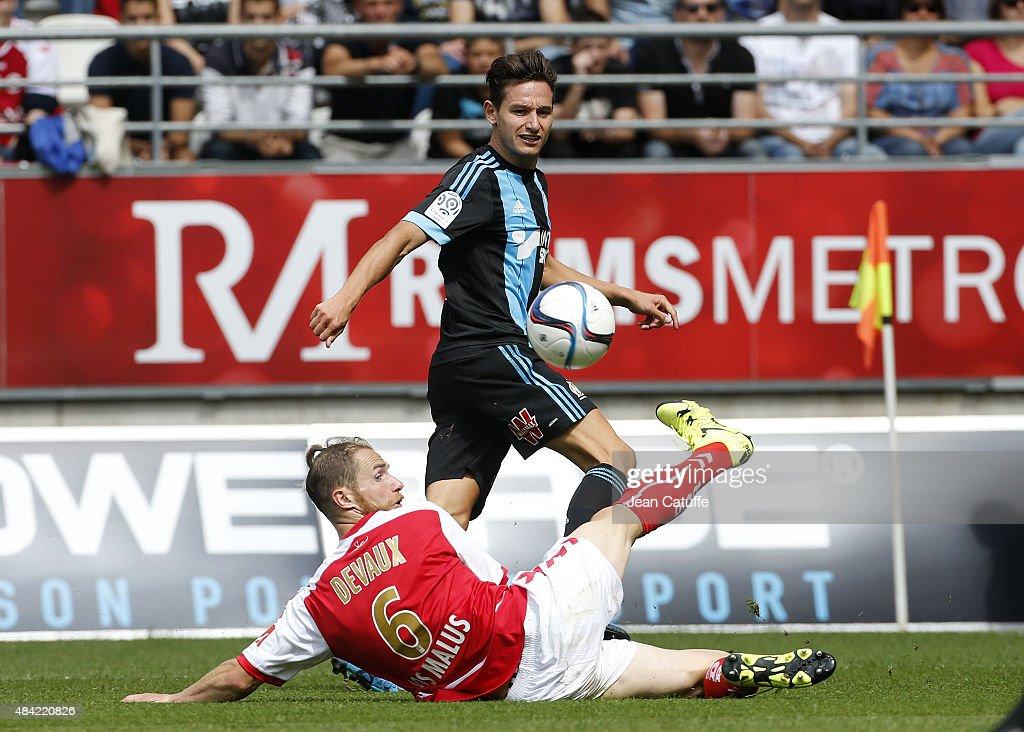 Stade de Reims v Olympique de Marseille - Ligue 1 : News Photo