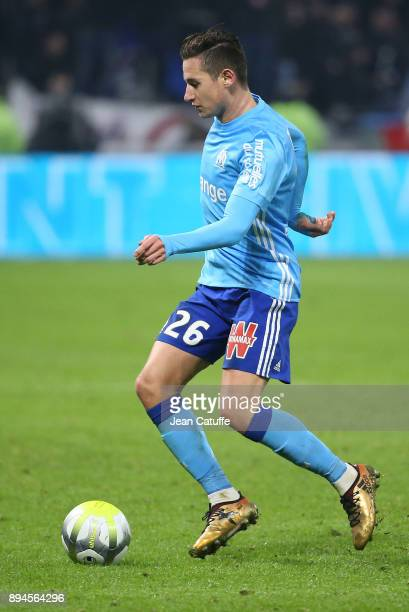 Florian Thauvin of OM during the French Ligue 1 match between Olympique Lyonnais and Olympique de Marseille at Groupama Stadium on December 17 2017...