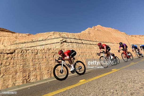 Florian Vachon of France and Team Arkea-Samsic / Laurent Pichon of France and Team Arkea-Samsic / Peloton / during the 1st Saudi Tour 2020, Stage 4 a...