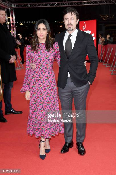 Floriana Lima and Casey Affleck attend the Light Of My Life premiere during the 69th Berlinale International Film Festival Berlin at Zoo Palast on...