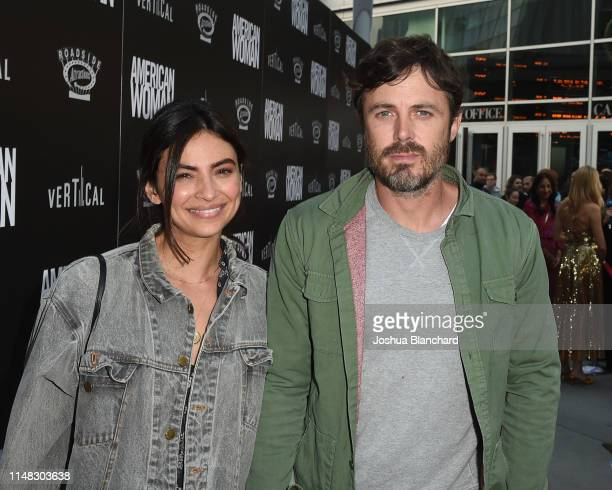 Floriana Lima and Casey Affleck attend the Los Angeles Premiere of American Woman on June 5 2019 in Los Angeles California