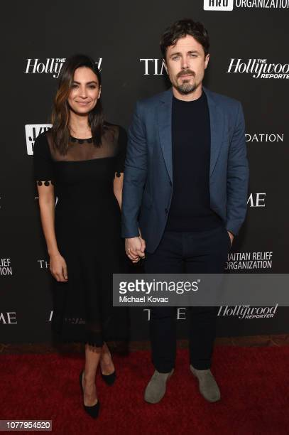 Floriana Lima and Casey Affleck attend the Sean Penn CORE Gala benefiting the organization formerly known as J/P HRO its lifesaving work across Haiti...
