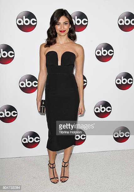 Floriana Lima attends the Disney/ABC 2016 Winter TCA Tour at Langham Hotel on January 9 2016 in Pasadena California