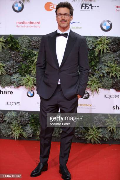 Florian-David Fitz attends the Lola - German Film Award red carpet at Palais am Funkturm on May 03, 2019 in Berlin, Germany.