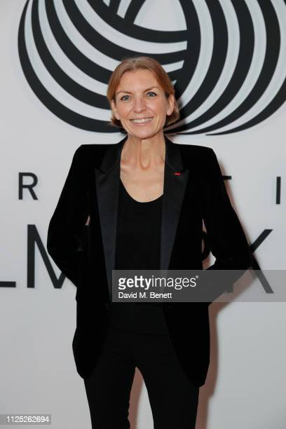 Floriane de Saint Pierre attends the International Woolmark Prize 18/19 Final show during London Fashion Week February 2019 at Lindley Hall on...