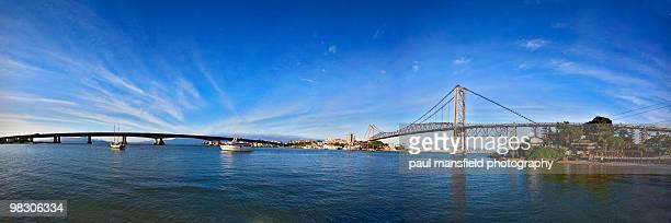 Florianopolis bridge panorama