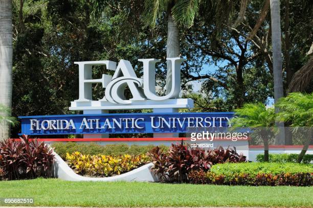 Florida Atlantic University sign