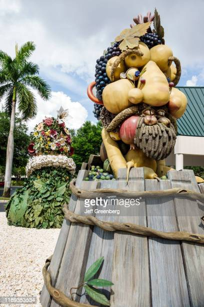 Florida Baker Museum ArtisNaples Philip HaasÍs set of monumental outdoor sculptures The Four Seasons