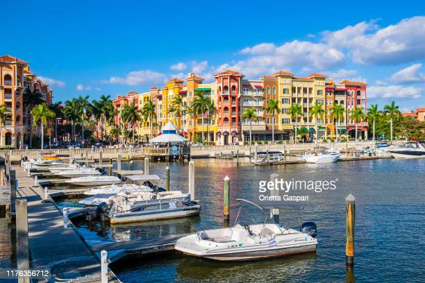 florida (us) - bayfront of naples - naples florida stock pictures, royalty-free photos & images