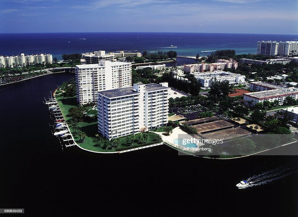 Florida, Boca Raton, Intracoastal Waterway : News Photo