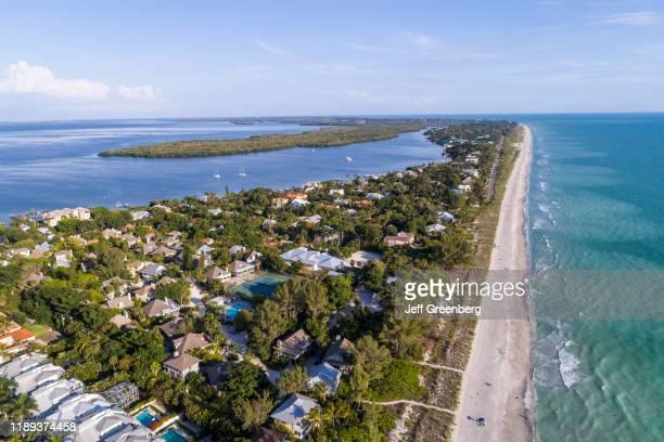 Florida Captiva Island Roosevelt Channel Buck Key Preserve and coastline