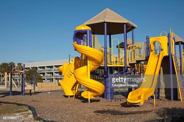 USA Florida Cedar Key City Park Childrens Playground