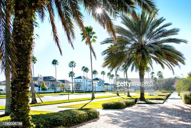 florida, celebration, residential community - kissimmee stock pictures, royalty-free photos & images