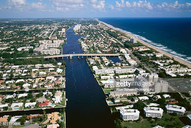 florida coastline - delray beach stock pictures, royalty-free photos & images