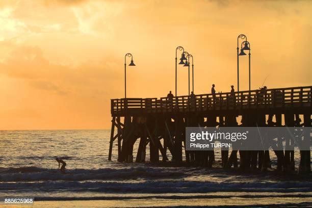 USA, Florida, Daytona Beach. The Pier.