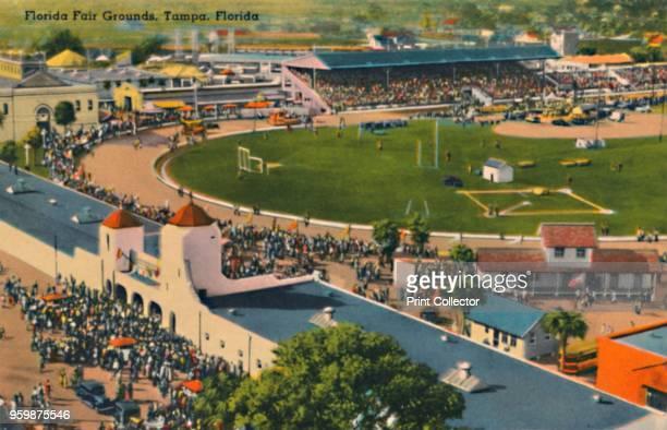 Florida Fair Grounds Tampa Florida' circa 1940s [Tichnor Quality Views Boston] Artist Unknown