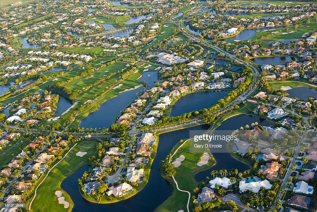 Florida From The Air : Bildbanksbilder