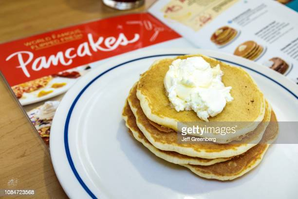 Florida Gainesville IHOP International House Pancakes plate of pancakes