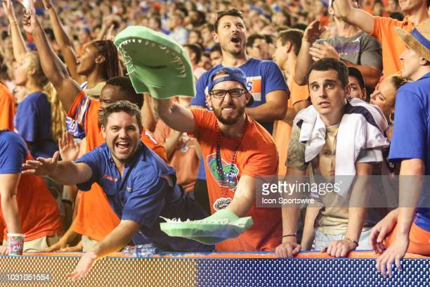 Florida Gators fan during the game between the Kentucky Wildcats and the Florida Gators on September 8 at Ben Hill Griffin Stadium at Florida Field...