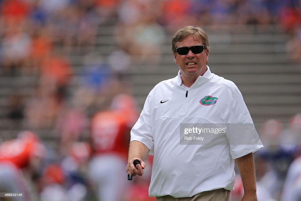 Florida Spring Game : ニュース写真