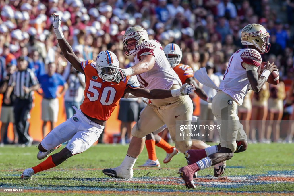 COLLEGE FOOTBALL: NOV 25 Florida State at Florida : News Photo