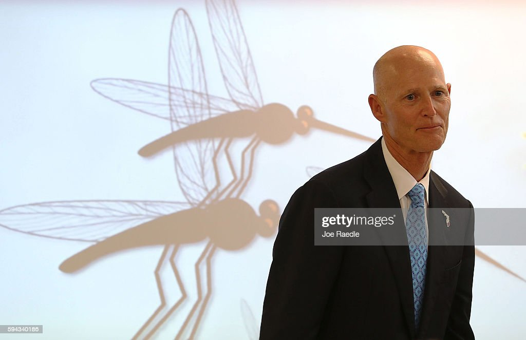 FL Gov. Scott Visits Miami School In Zika Cluster Zone On First Day Of Classes
