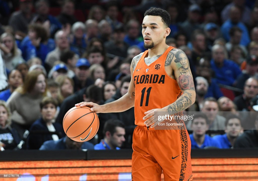 COLLEGE BASKETBALL: NOV 26 PK80-Phil Knight Invitational - Duke v Florida : News Photo