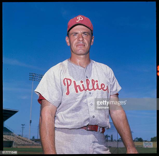 Gus Triandos of the Phillies during spring training April 1964