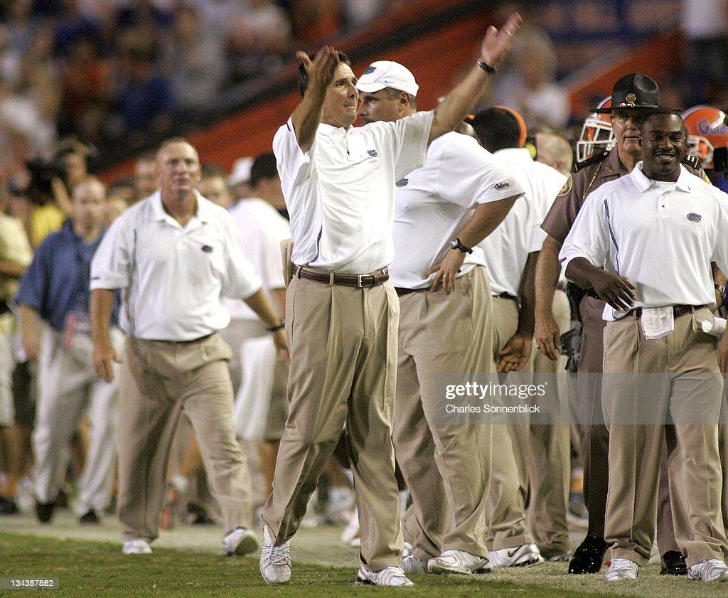 NCAA Football - Tennessee vs Florida - September 17, 2005