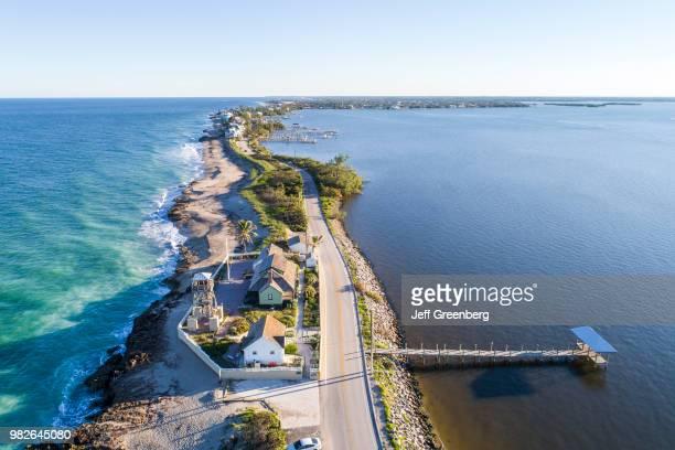 Florida, Hutchinson Island, Stuart, Ross Witham Beach, House Of Refuge Museum.