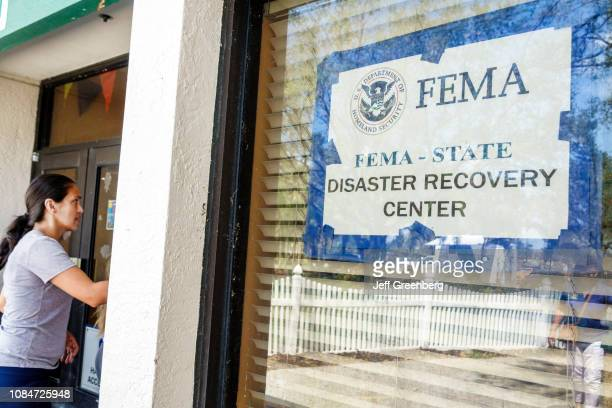 Florida, Immokalee, FEMA State Disaster Recovery Center.