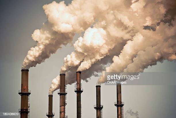 usa, florida, industrial smokestacks - pollution stock pictures, royalty-free photos & images