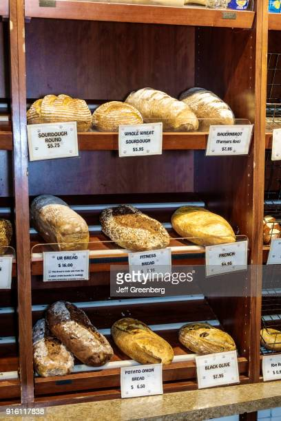 Florida Ivanhoe Village Backhaus German Bakery Deli Bread Display