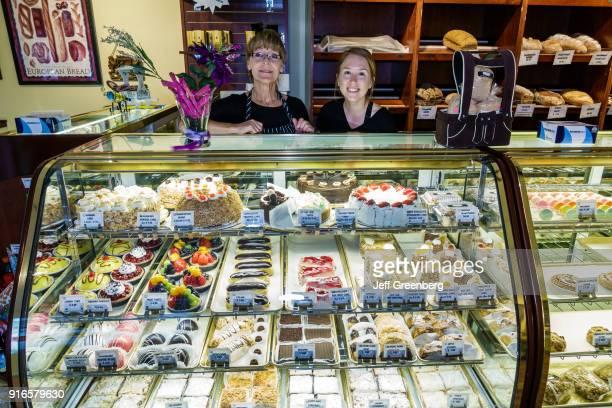 Florida Ivanhoe Village Backhaus German Bakery Deli Pastry Display