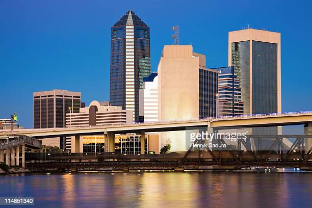 USA, Florida, Jacksonville skyline
