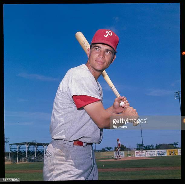 John Callison of the Phillies during spring training April 1964