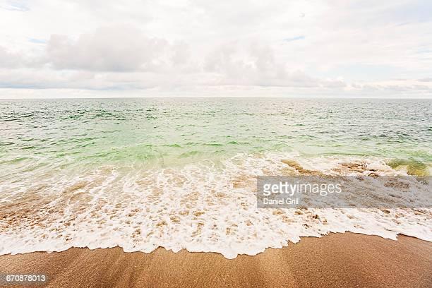 Florida, Jupiter, Cloudy sky over sea