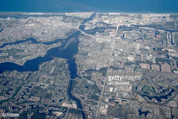 Florida Jupiter Loxahatchee River Aerial