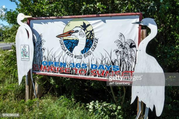 Florida Key Largo Florida Keys Wild Bird Center Laura Quinn Sanctuary Entrance Sign