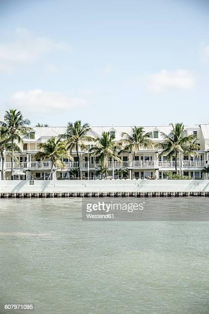 USA, Florida, Key West, houses by the sea