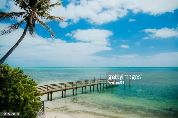 usa, florida keys, boardwalk - florida keys stock pictures, royalty-free photos & images